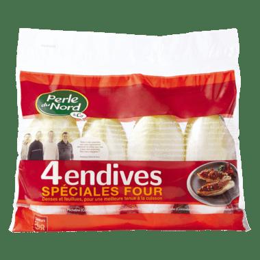 4 Endives spéciales Four
