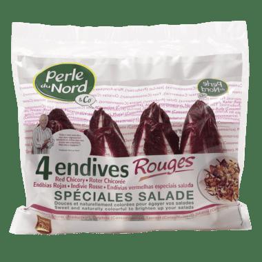 4 Endives Rouges spéciales Salade