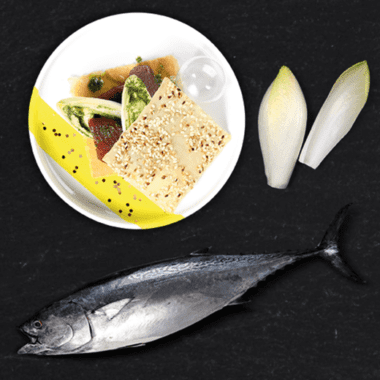 Millefeuille d'endives à la provençale