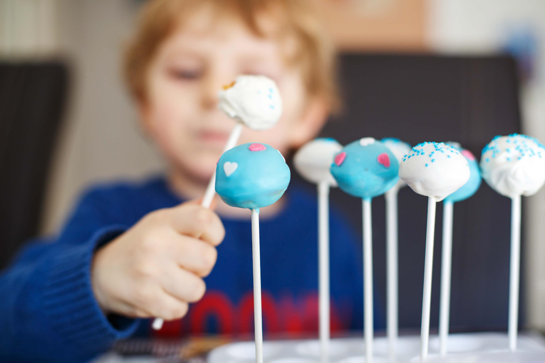atelier cuisine des enfants spécial endive, les cakes pops