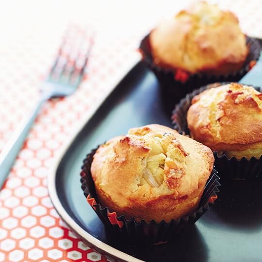 Muffins d'endives au roquefort