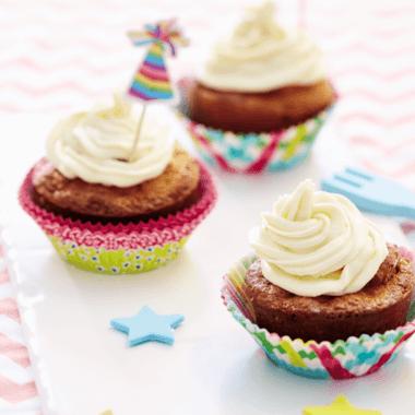 Petits cupcakes aux endives et poires