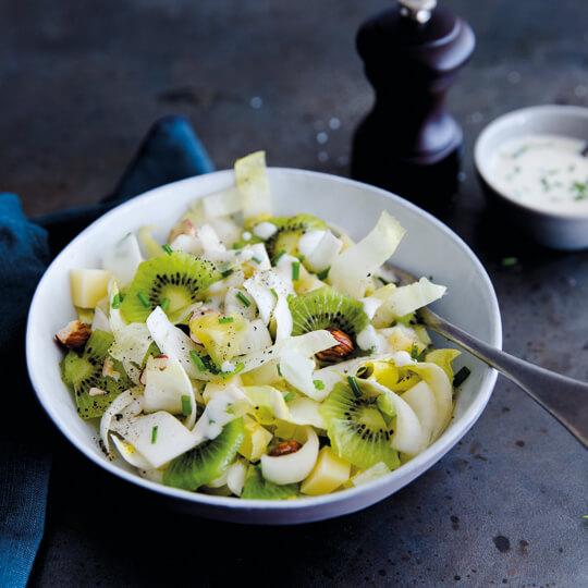 Salade de Perles aux kiwis
