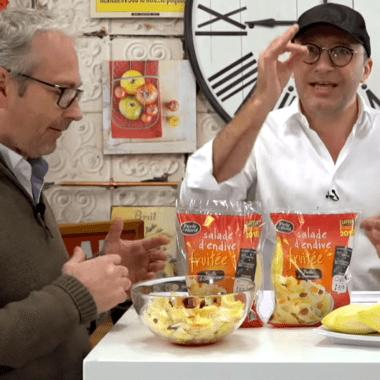 My Saveur TV teste la Salade d'Endive Fruitée Perle du Nord
