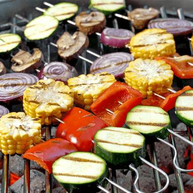 Comment préparer endive et légumes au barbecue ?