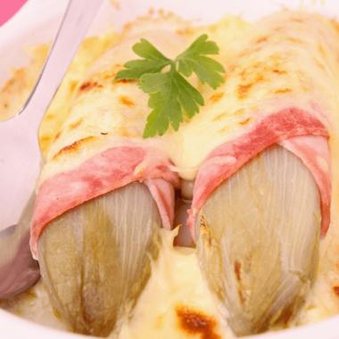 Endives au jambon et ses multiples variantes (aussi appelées chicon gratin)
