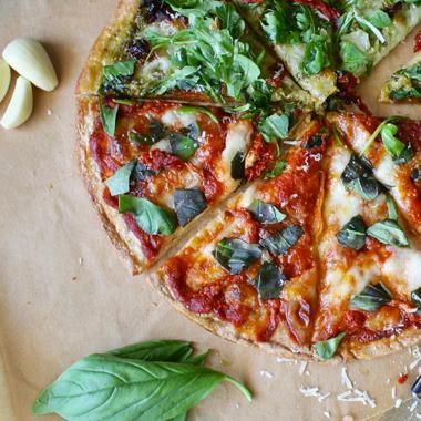 3 recettes de pizza végétarienne (avec de l'endive)